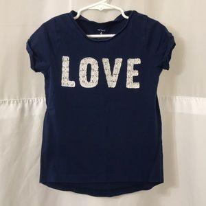 Girl's Carter's Love Tee